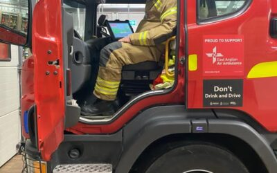 A Rewarding career in the fire service.