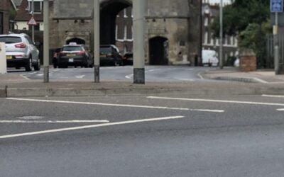 London Road Closed