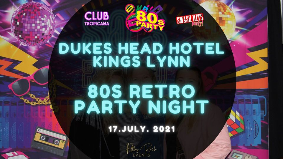 Club Tropicana 80's vs 90's Party Night