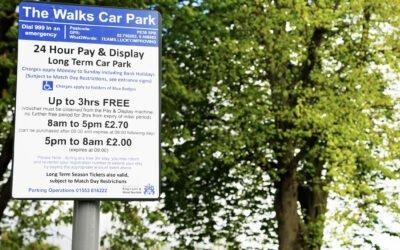Walks Car Park revamped