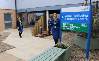 Cancer Wellbeing and Support Centre opens at QEH