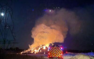 Safety warning after Norfolk farm fires